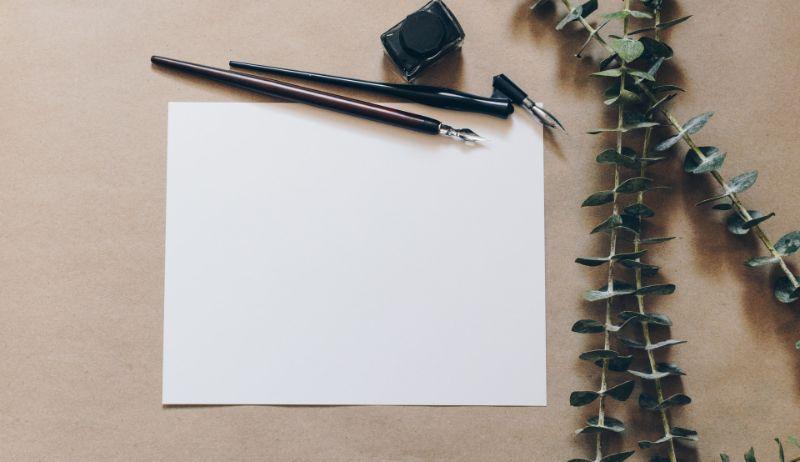 ペンと手紙