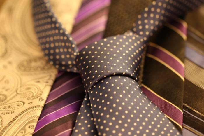スーツ用ネクタイ